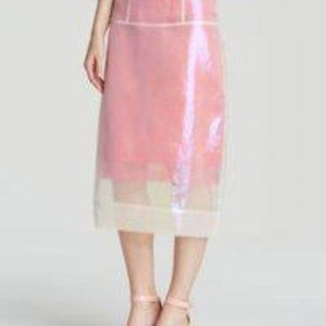 Marc by Marc Jacobs Cluster Organza Skirt Size 0